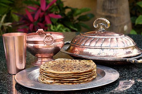 Gobi Paratha/ Griddle Baked Savoury Cauliflower Pancakes