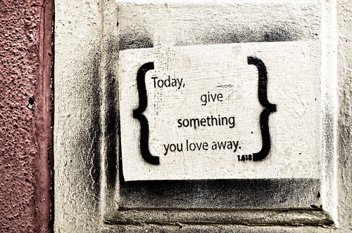 Day 126 - Give It Away