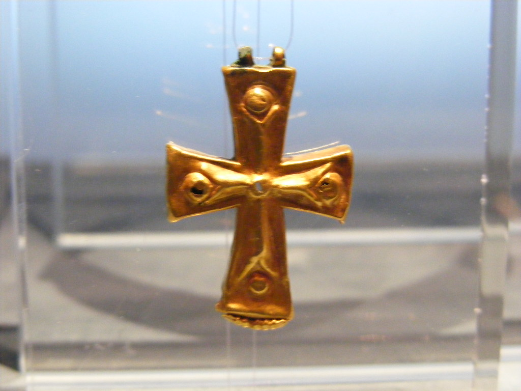 Gold Cross from the Byzantine Period