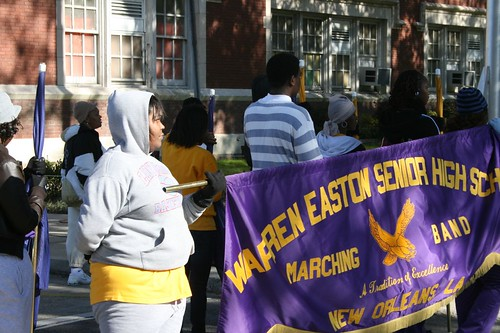 Warren Easton Practicing for Mardi Gras (3)