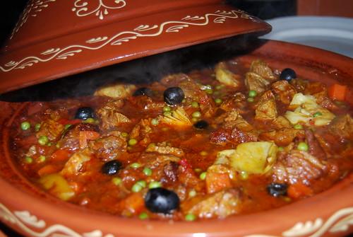 stoofpot van lamsvlees met saffraan