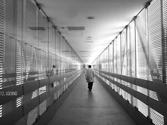 The doctor (sleepless) (Mister Blur) Tags: blackandwhite bw blancoynegro hospital md sonyericsson yucatan hallway doctor pasillo blackdiamond sleepless whiterobe yucatán k790a mérida hrae rocoeno marconiunion