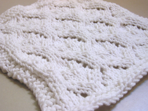 Elvish Leaves washcloth
