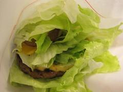 Lettuce Beef Burger