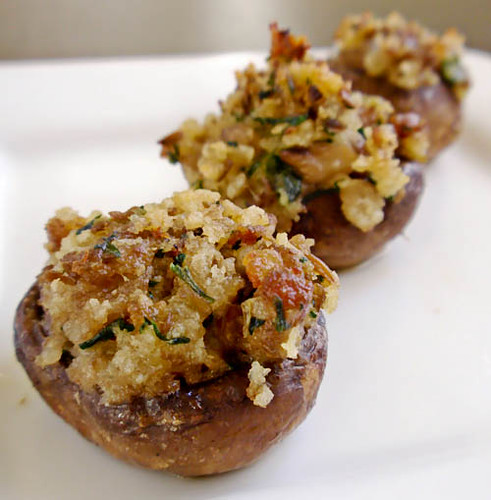 Sausage Stuffed Mushrooms Handle The Heat