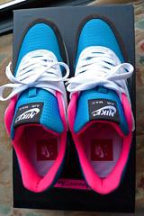 Nike Air Max 1 iD. (gooey_wooey) Tags: pink 1 shoes neon bright mesh running sneakers trainers nike 98 gaudy kicks loud 90 airmax 87 97 nikeid