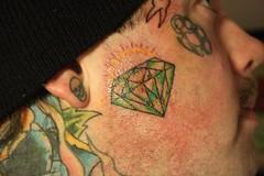 oldskool diamond.. (nonametattoo) Tags: rose tattoo moose oldschool diamond elk oldskool tattooflash necktattoo facialtattoo nonametattoo