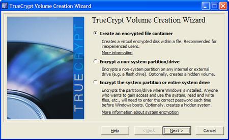 TrueCrypt - программа для шифрования