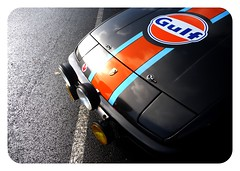 Gulf Racing 924 (essichgurgn) Tags: auto light car ferry clouds reflections automobile gulf 911 voiture racing cayenne coche ferdinand porsche carro cayman sebring boxster macchina lemans 904 917 944 oto 928 automvil karu 356 550 968 914 924 nrburgring motorcar 962 cotxe  kocsi     samochd  vehculo otomobil zuffenhausen   automobiel   vettura   bl avtomobil makin   karru mba          awto oyto
