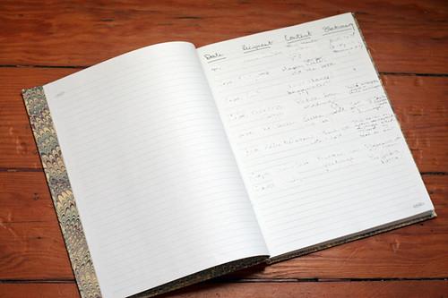 My Correspondence Register