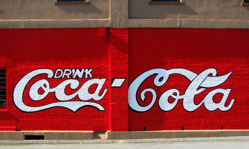 World's Oldest Coca-Cola Mural