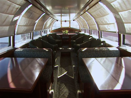 Private Rail Car - Northern Dreams, dome by day