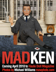 MAD KEN tribute to Golden Globe Winner MAD MEN (MyLifeInPlastic.com) Tags: men fashion modern vintage magazine golden design michael miniature tv globe jon doll williams cigarette smoke ken barbie saturday donald retro smoking emmy lucky winner blinds don strike primetime date mad amc cigarettes drama mattel diorama hamm winning dollhouse haute midcentury draper madmen amctv