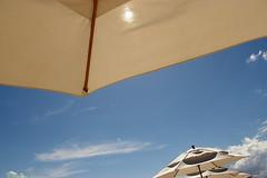 Dreamdaze II (Beachhead Photography(Is in standby mode)) Tags: blue sky sun clouds umbrella mexico umbrellas aplusphoto theperfectphotographer beachheadphotos