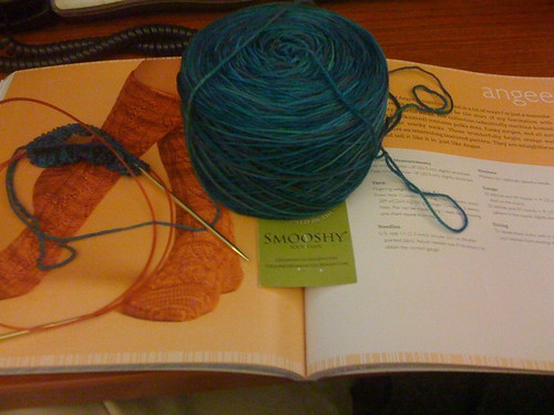 Angee sock beginning
