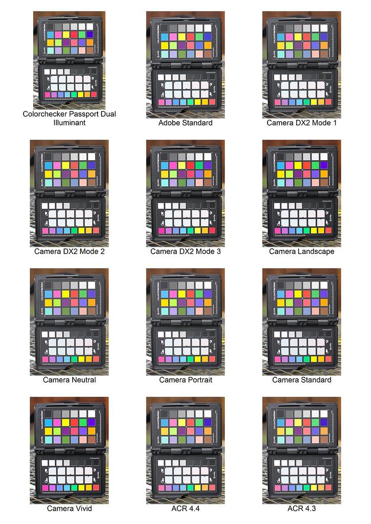 Nikon D300 Colour Calibration in Adobe Lightroom
