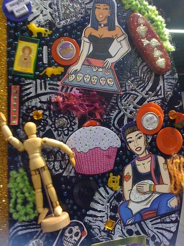 Crafty Chica Shrine detail