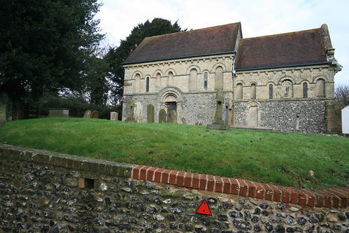The Parish church of St Nicolas, Barfrestone