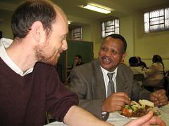 Craig Simenson and Fessehaye Berhane