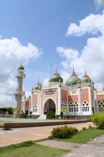 The Pattani Central Mosque, Thailand