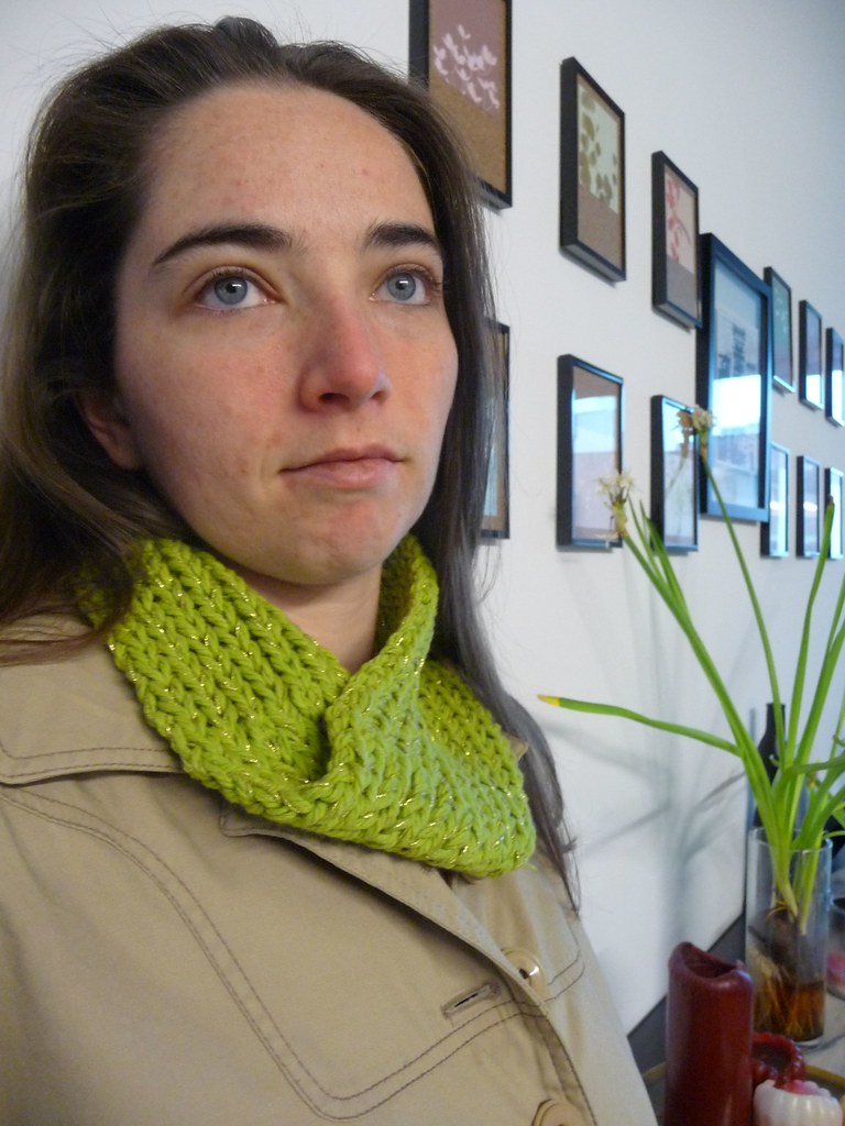 Green Apple Cowl