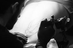 "Marking Freedom (Federico ""Phrezzo"" Innocenzi) Tags: italy tattoo canon joi swallow tatoo tatuaggio rondine 400d"