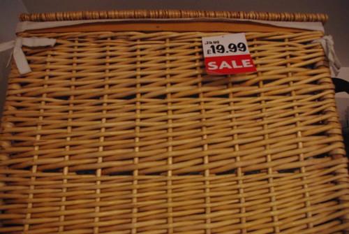 Sale basket in Shenzhen