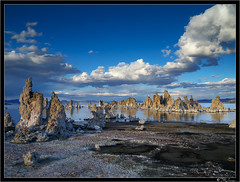 Tufa Less Traveled (Tony Immoos) Tags: california statepark blue sunset sky lake nature sunshine clouds wow landscape mono scenic landmark olympus explore historical ripples e3 monolake tufa saltwater 1000views thearchives printsavailable happyhours zd monocounty 1260mm olympuse3