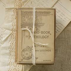 book bundle (roberta grove vintage) Tags: vintage antique library books mythology neutral etsyfind robertagrove