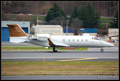 KBFI Private Learjet 60 N64MG (djlpbb40) Tags: seattle private 60 learjet lear boeingfield bizjet bfi kbfi lj60 kingcountyinternationalairport n64mg