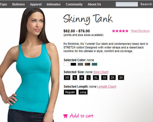 Skinny Tank Removes Your Ribs!