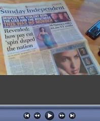 Qik Look at Sunday Independent