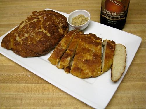 Pro Bowl Pretzel Bread