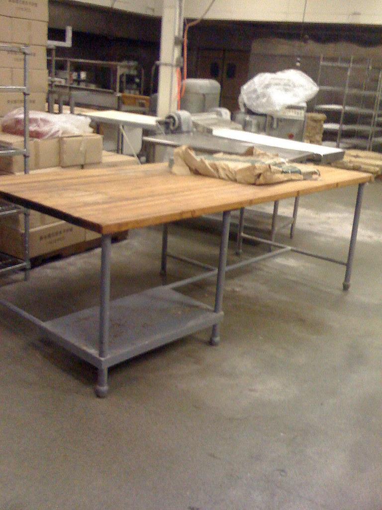 Hard wood kitchen table