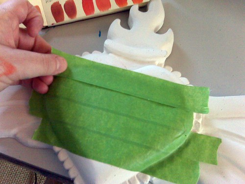 Masking Off Mini-Tute - layer it