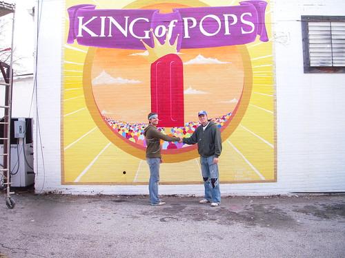King of Pops Mural 102