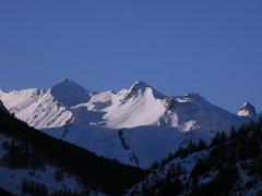 Fin de journée sur le Col du Lautaret