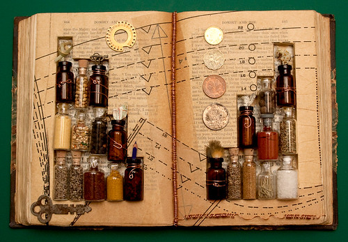 Altered Book- Alchemy
