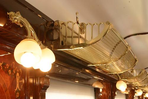 Pullman Orient Express - detail, interior