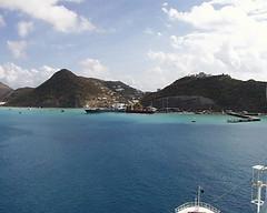 Approaching Sint Maarten