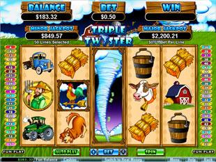 free Triple Twister bonus game