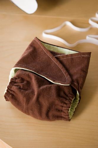 I. Made. A. Diaper.