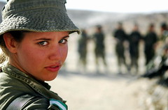 The Eyes of the IDF (Israel Defense Forces) Tags: girls israel women soldiers israeli idf womensoldiers idfsoldiers israeldefenseforces groundforces girlsoldiers femalesoldiers infantryinstructors