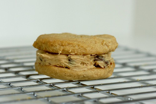 Peanut Butter-Chocolate Chip Sandwich Cookies