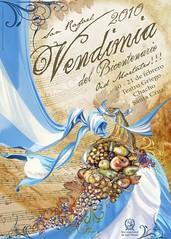 Afiche de la Fiesta de la Vendimia en San Rafael