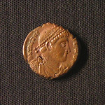 "<b>381 Obverse</b><br/> <a href=""http://en.wikipedia.org/wiki/Valentinian_I"" rel=""nofollow""><u><b>Valentinian I</b></u></a> <i>Reign: AD364 - 375</i> For a little over a month, Valentinian ruled the entirety of the Roman Empire by himself, but later was ruler of the West while his brother Valens ruled in the East. He founded the Valentinian Dynasty, and is often regarded as being one of the last great Roman Emperors.  Donated by Dr. Orlando ""Pip"" Qualley<a href=""http://farm5.static.flickr.com/4037/4351359581_d2e17dc327_o.jpg"" title=""High res"">∝</a>"