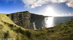 The Cliffs Of Moher (David Olsthoorn Photography) Tags: blue ireland sunset irish david green photography clare cliffs skys moher lahinch aileens olsthoorn