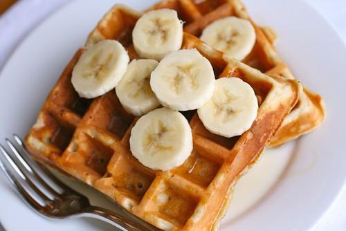 Banana Bread Waffles - Everyday Annie