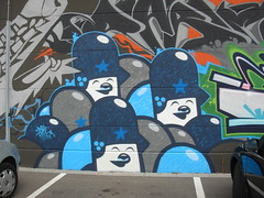 flying fortress (Pasota.com) Tags: street art graffiti flying teddy fortress troops