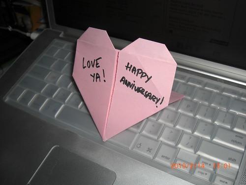 Anniversary & Origami